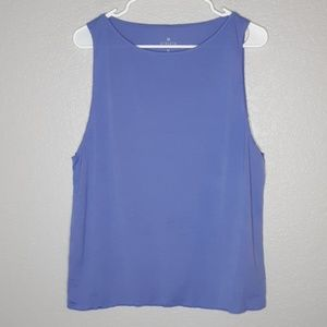 Athleta Periwinkle Blue Lightweight Muscle Tanktop